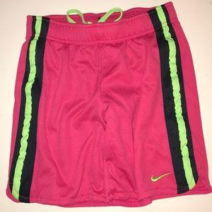 Kids Nike Athletic Shorts